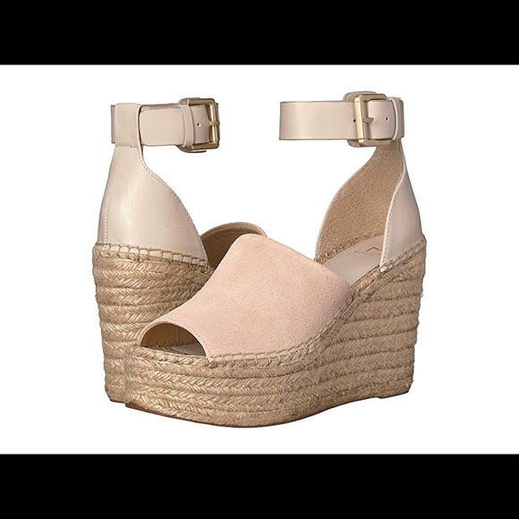 3d291d1d9fa8 Marc Fisher Alida Wedge in Ivory